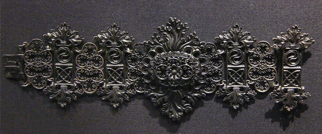 Bracelet, Germany, Berlin, 1820-30, made by Johann Conrad Geiss, cast iron