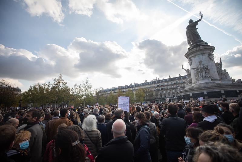 2020-10-18 - Rassemblement hommage Samuel Paty-7