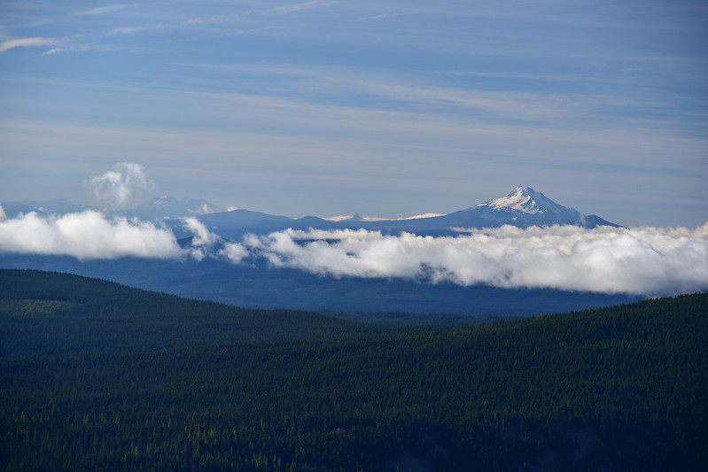 Three Sisters and Mt. Jefferson