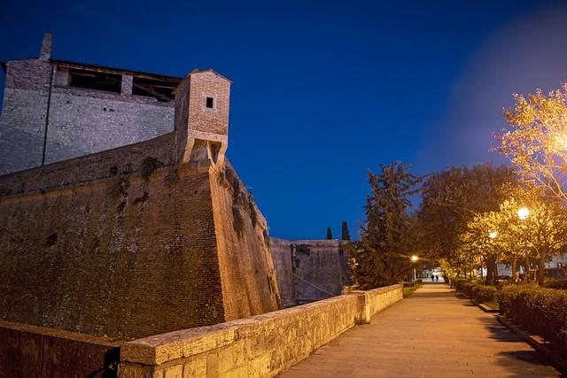 La fortezza e il cassero senese di Grosseto - The fortress and the Sienese quarterdeck of Grosseto