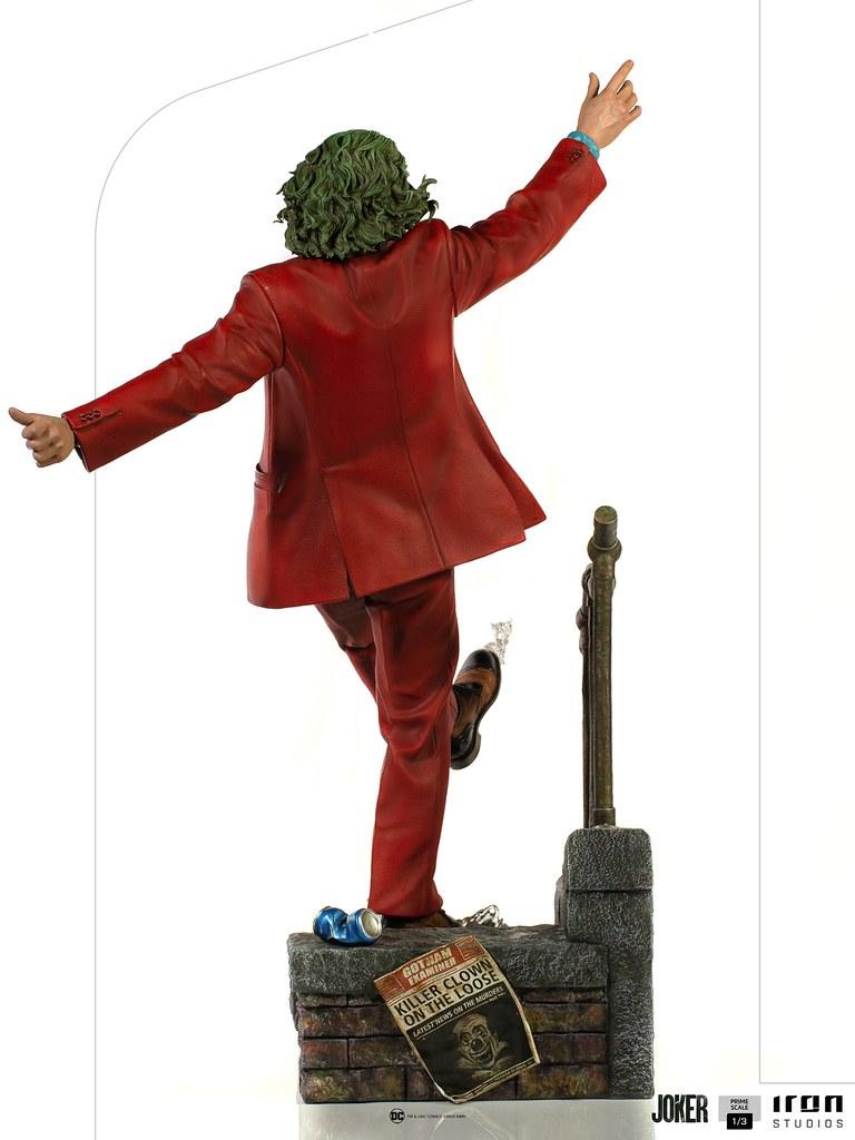Iron Studios《小丑》小丑 1/3比例全身雕像曝光【Sideshow NY Con 2020】