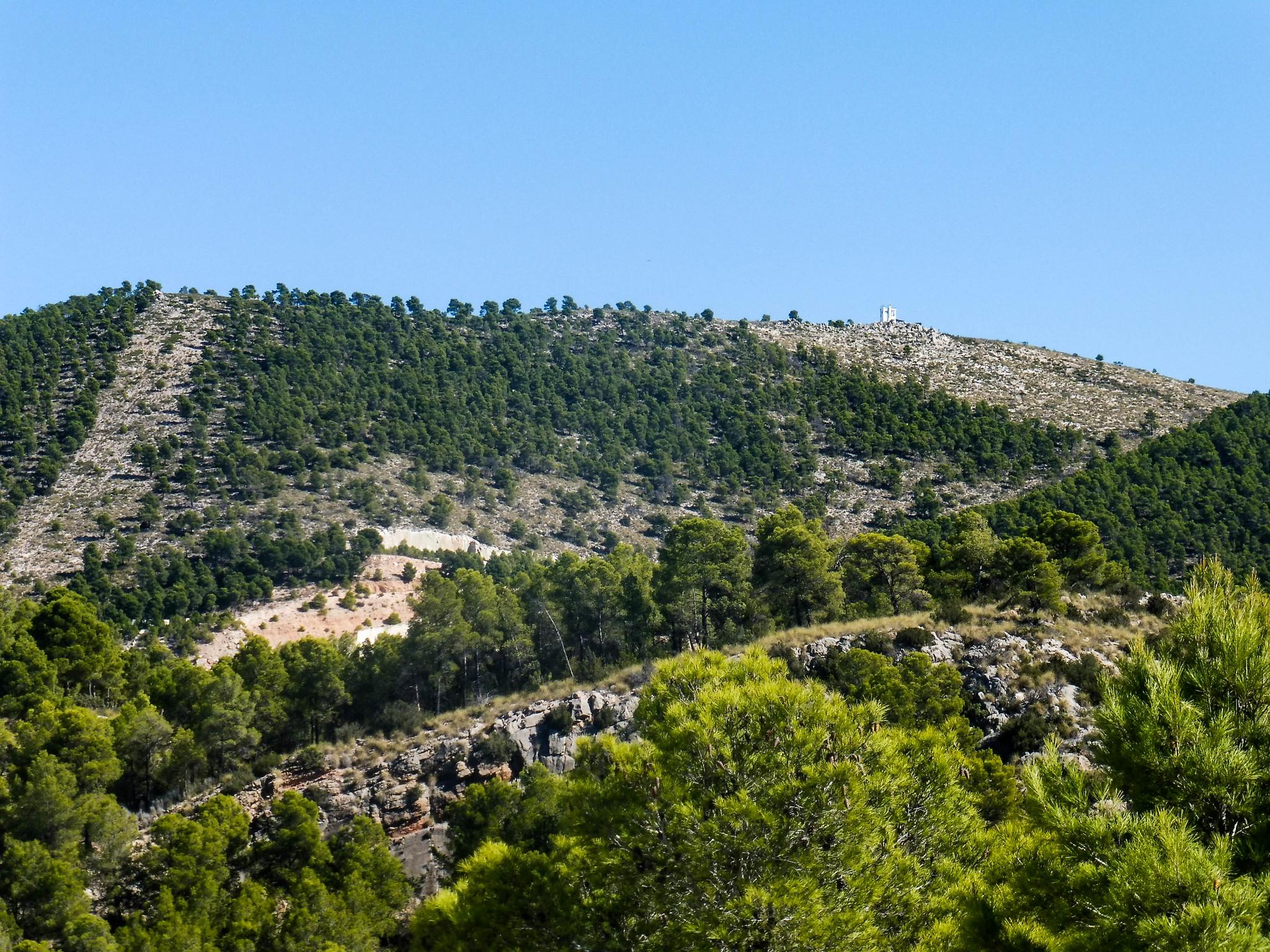 Sierra del Almirez y su caseta de incendios