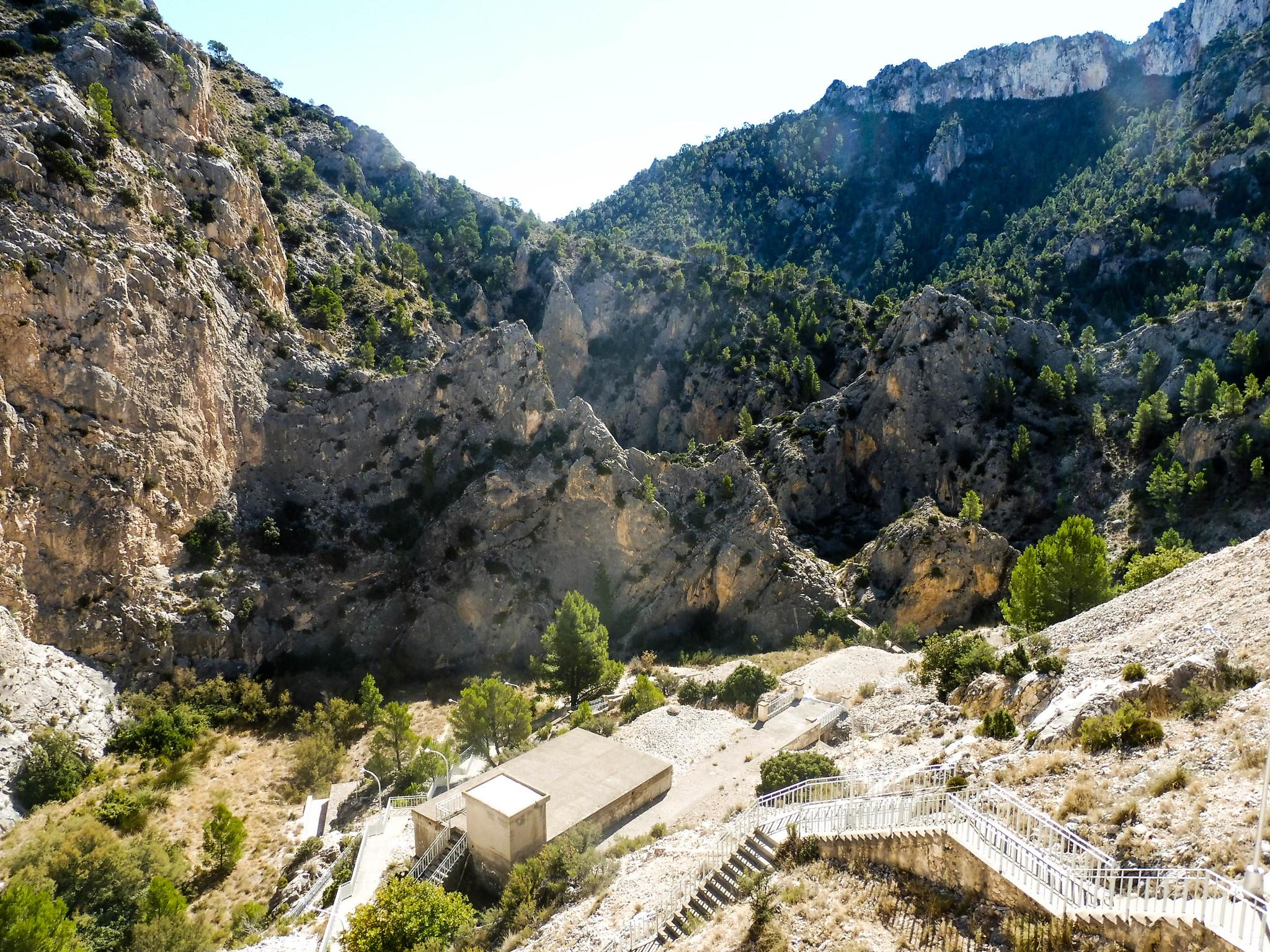 El cañón del río Luchena