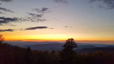 Fading Light at Shenandoah National Park