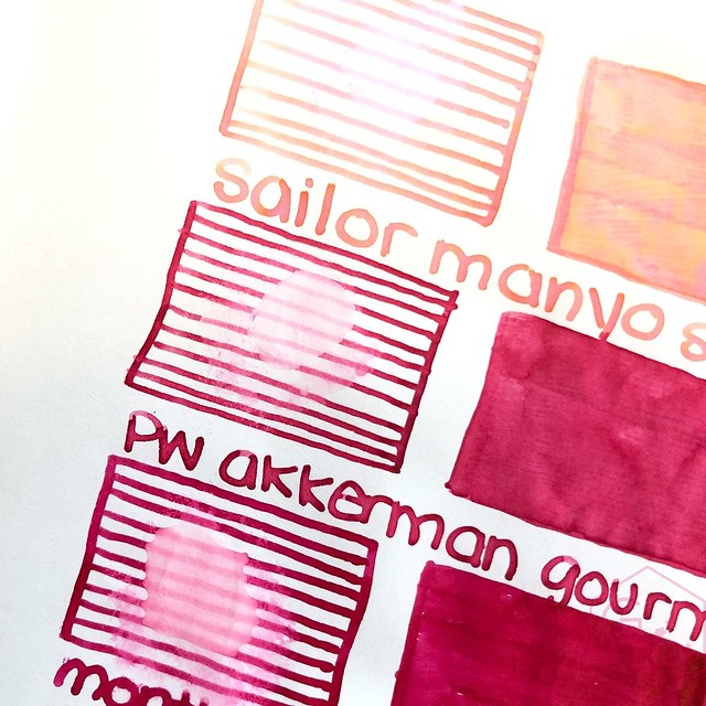 Sailor Manyo Sakura Ink 16