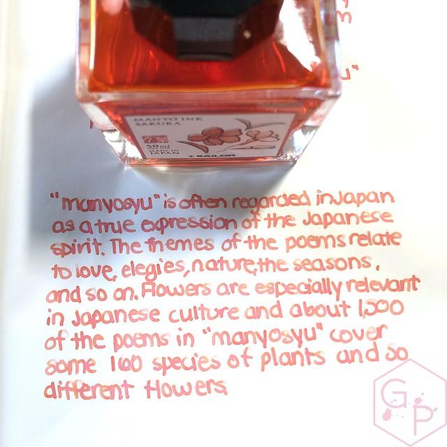 Sailor Manyo Sakura Ink 5