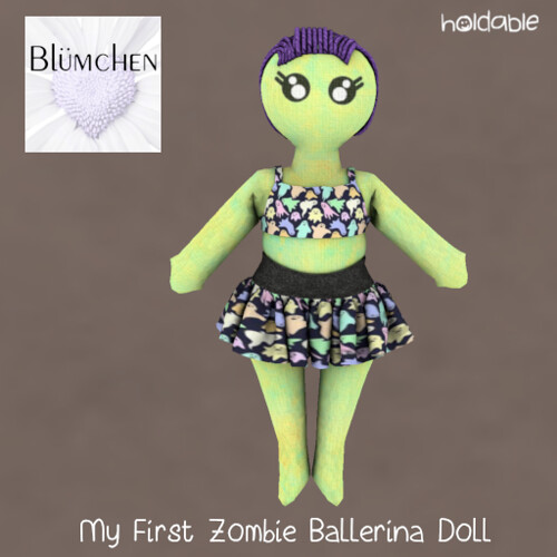Blumchen My First Zombie Bal AD - Alfonzo's Spooktacular Trick-or-Treat Oct 17 - 31