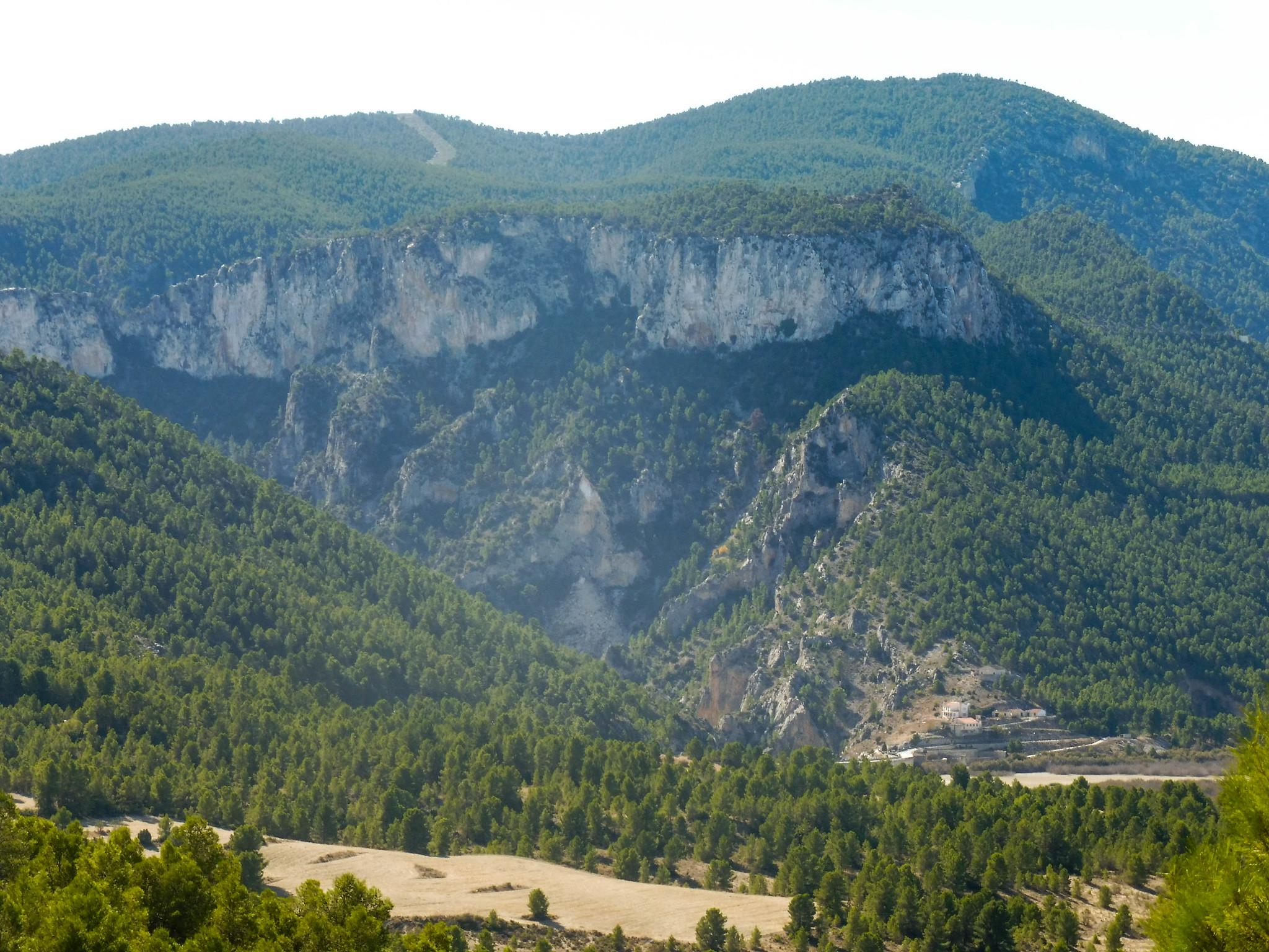 Aspecto del cañón del Luchena