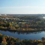 Cold Autumn Morning at UMaine