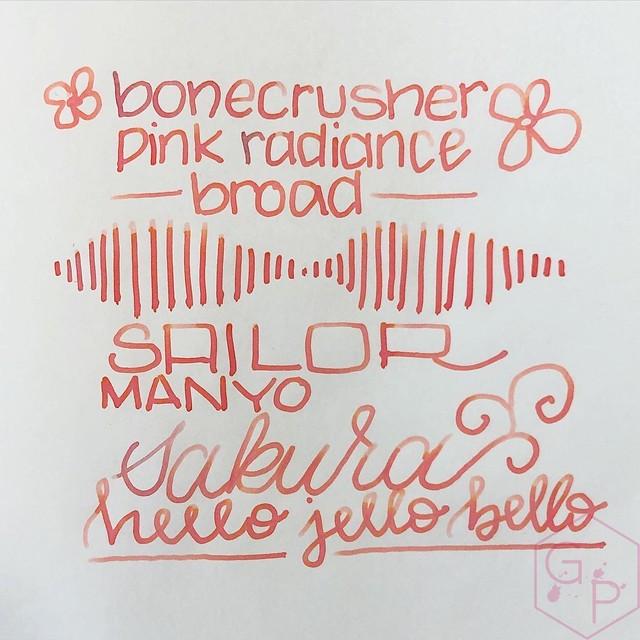 Sailor Manyo Sakura Ink 12