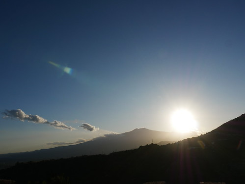 Sunset Over Etna