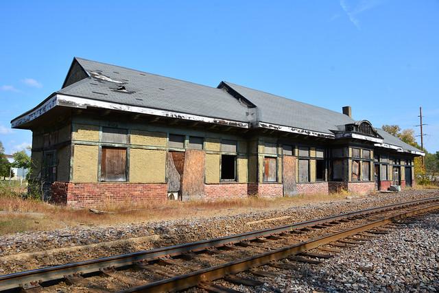 Chicago & Alton - Louisiana, Mo. Station