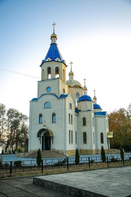 18 октября 2020, Митрополит Кирилл совершил великое освящение Казанского храма в Сенгилеевском