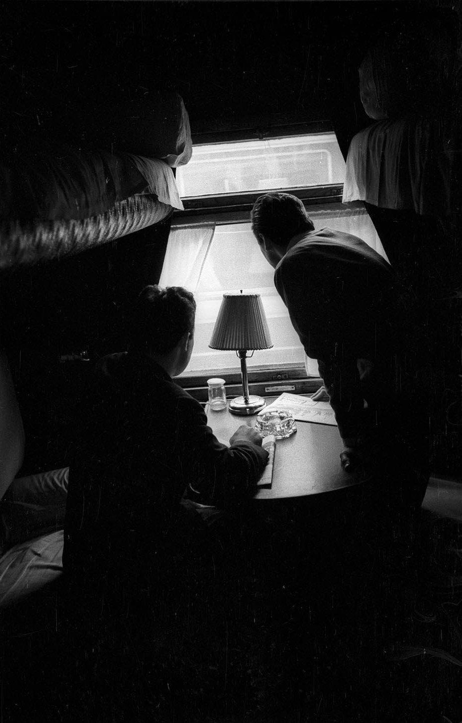 1950-е. Отъезд поезда