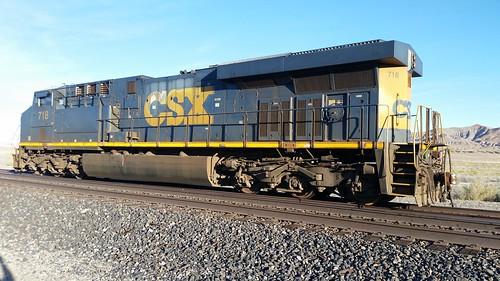 CSX 718 at Ocala NV