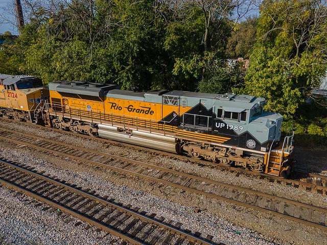 UP 1989 (SD70ACe) Rio Grande Heritage Train:IMEMN KC Jct. Memphis, Tennessee