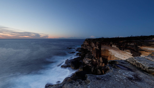 sydney newsouthwales australia nsw kurnell national park kamay botany bay dawn sunrise sky morning long exposure