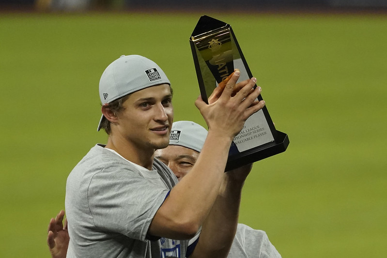 Corey Seager。(達志影像)