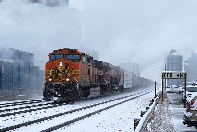 Through Snow and Steam