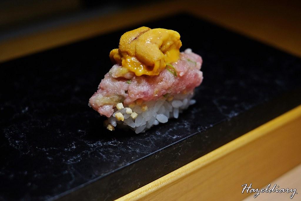 Ginza Shinto Japanese Omakase-Forget Me Not Sushi