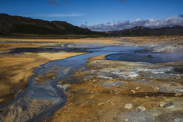 Hverir, geothermal fields