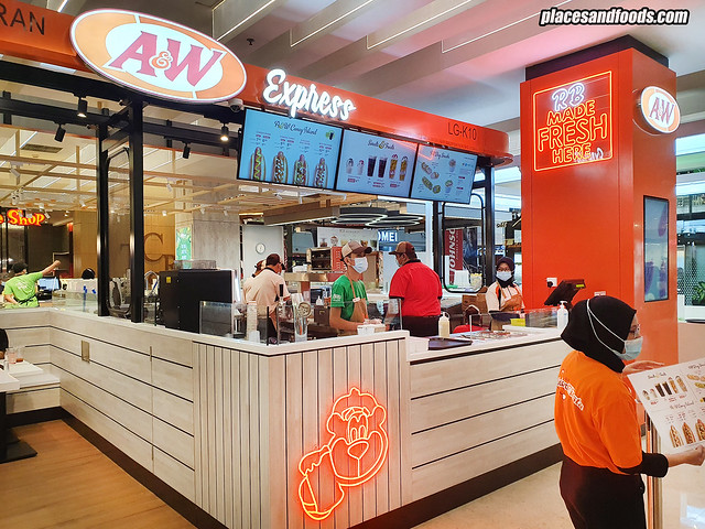 A&W Express IOI City Mall
