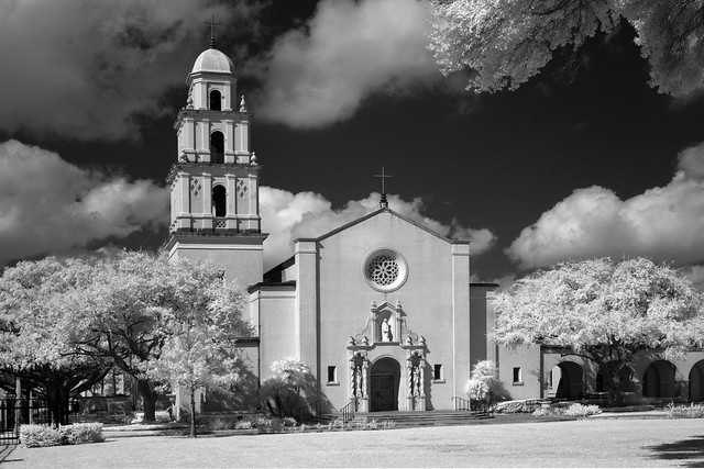 St. Anne Catholic Church (infrared)