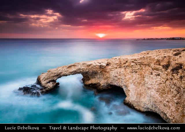Cyprus - Ayia Napa - Cape Greko - Unique Sea Cave Area