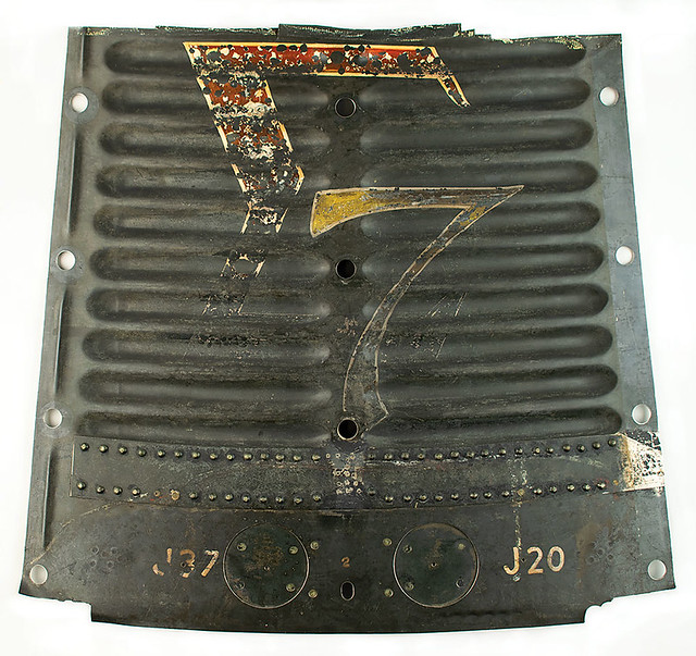 Flown Superalloy Shingle with Sigma 7 logo, from the MA-8 Mercury Spacecraft piloted by Wally Shirra