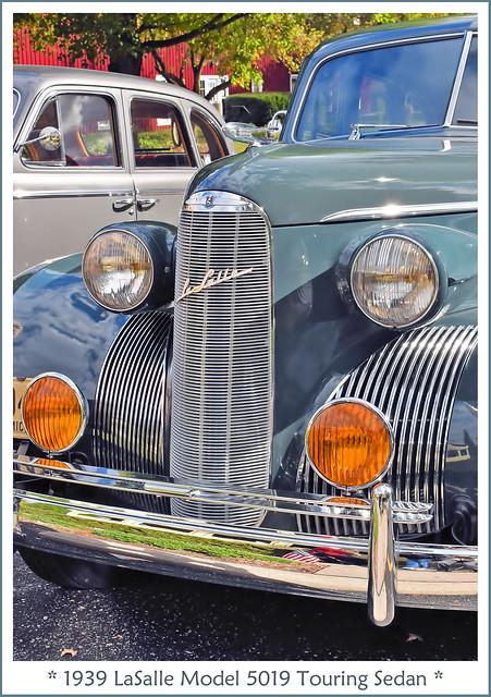 1939 LaSalle Model 5019 Touring Sedan