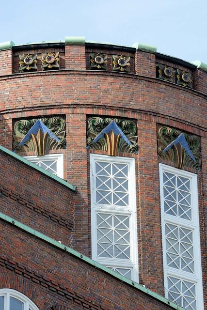 0241 Dienstgebäude der Finanzbehörde Hamburg, ehem. Finanzdeputation am Gänsemarkt in der Hamburger Neustadt.