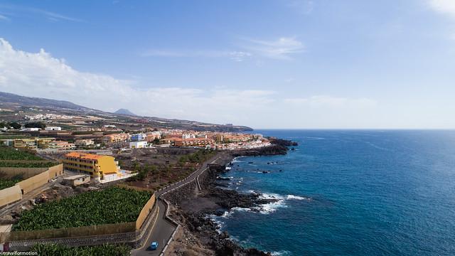 drone19 - Playa Rosalía - tenerife 2017