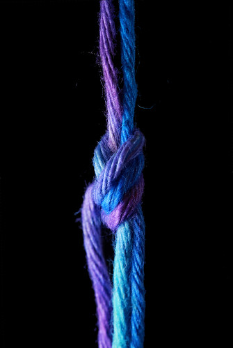 Knotted Tie-Dye String | by j.towbin ©