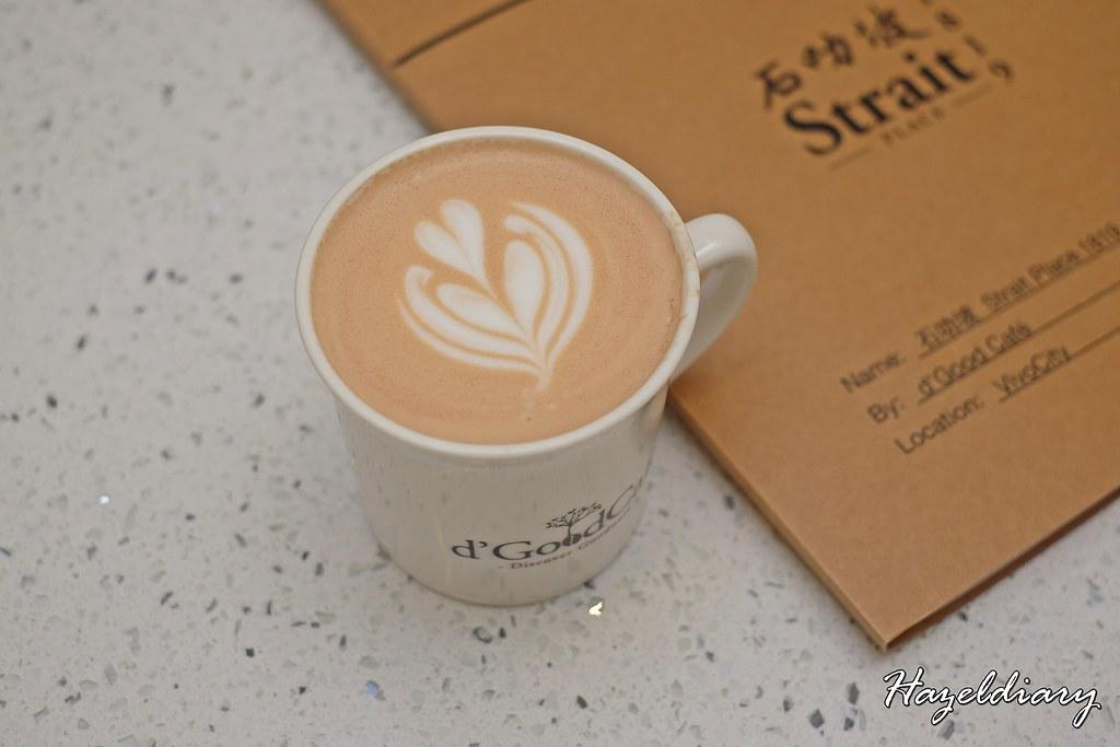 Strait Place 1819 Vivocity Singapore-Pu-er Latte