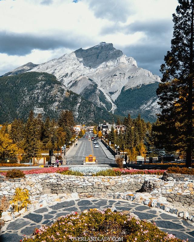 Banff AB, town centre