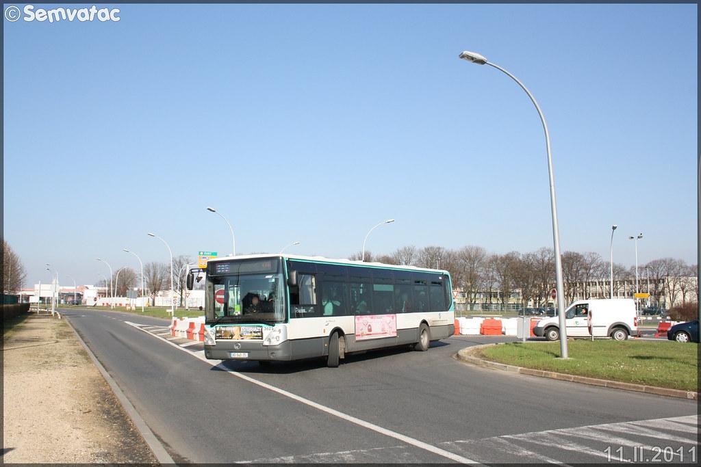 Irisbus Citélis Line – RATP (Régie Autonome des Transports Parisiens) / STIF (Syndicat des Transports d'Île-de-France) n°3625