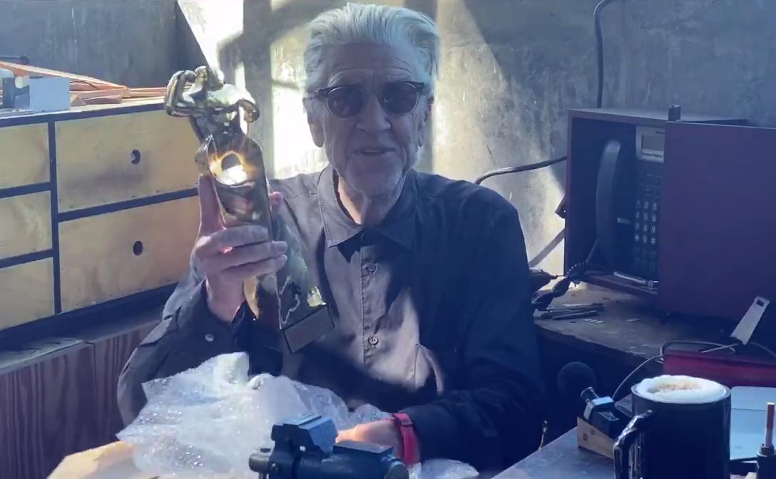 David Lynch emociona al auditori en la Gala de Clausura de Sitges Film Festival 2020
