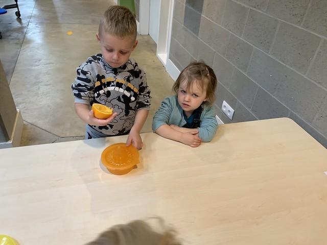 Peuter-1e Kleuterklas: Fruitsla Maken