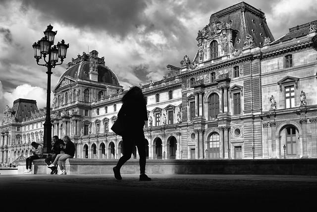 La Silhouette au Louvre