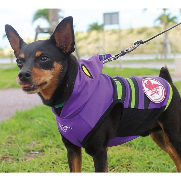 泛用犬型決戰兵器?EVA×doggy shake「初號機/二號機寵物衣」再販