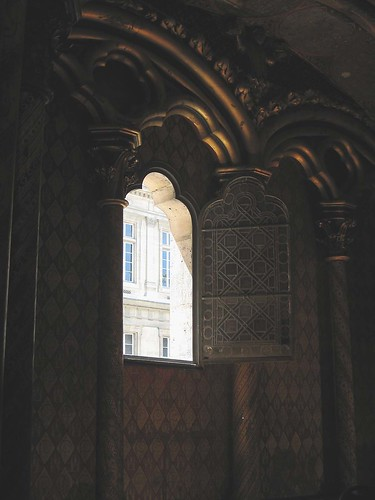 """Open Window at Sainte-Chapelle"""