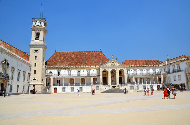 University buildings, Coimbra, Portugal