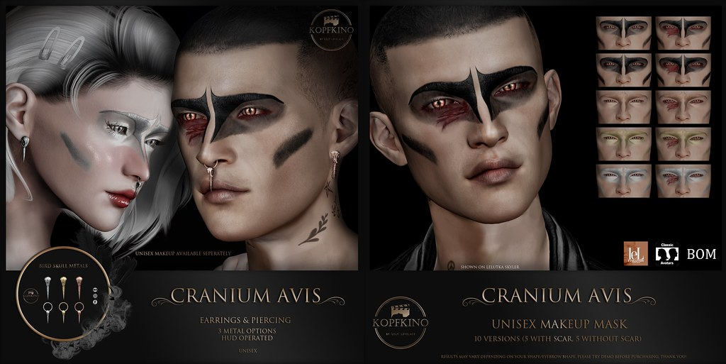 KOPFKINO – Cranium Avis for Men Only Monthly