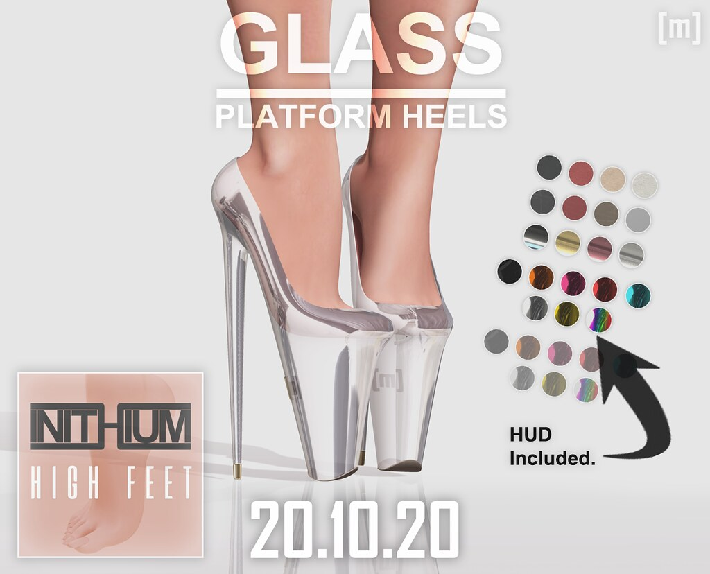 [Misfit] Glass Platforms (50% OFF 20.10.20)