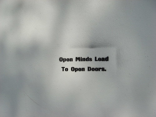 """Open Doors / Open Minds"""