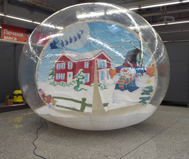 Unreal Ice Giant snow Globe 2