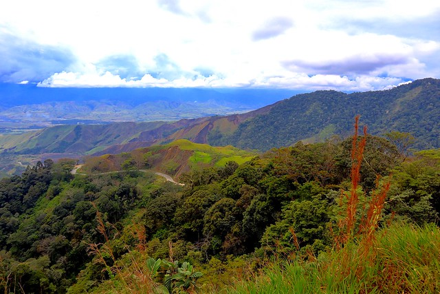 Highlands on the way from Goroka to Madang, Papua New Guinea (EXPLORED)