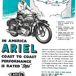 Mon, 2020-10-19 10:55 - The Ariel square four, doing it for Britain in 1951.