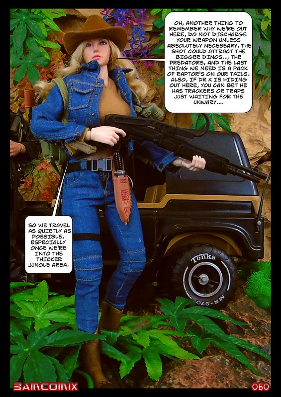 BAMComix Presents - Agent Down - Chapter Four -  Hitting the trail  50505179513_16305f0c23_c