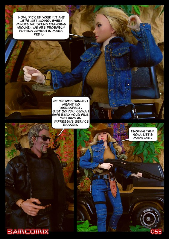 BAMComix Presents - Agent Down - Chapter Four -  Hitting the trail  50505180003_dcc2b1a867_c
